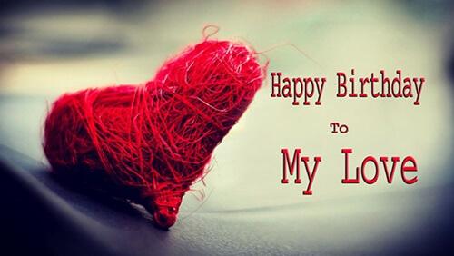 Lời chúc mừng sinh nhật Người Yêu lãng mạn