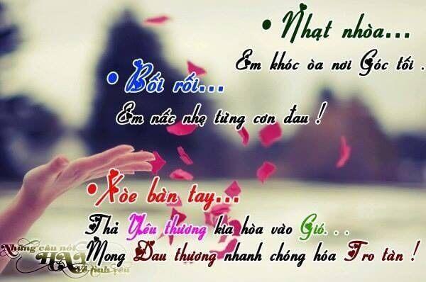 Stt buồn về tình yêu