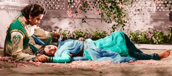 Tình yêu của chàng hoàng tử Ấn Độ và nô lệ.