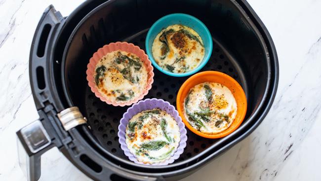 Đây là công thức làm trứng nướng bằng nồi chiên không dầu siêu tiện lợi cho hội chị em đang giảm cân - Ảnh 7.