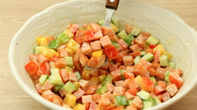 Buổi tối quyết tâm vào bếp làm món salad này, thành quả sẽ khiến chị em chỉ cần nhìn thôi cũng thấy no! - Ảnh 4.