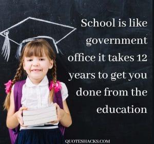 Funny school saying