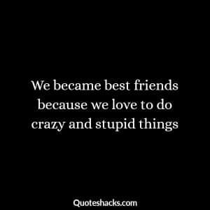 những câu nói hài hước về tình bạn
